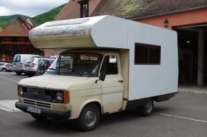 photo du camping car
